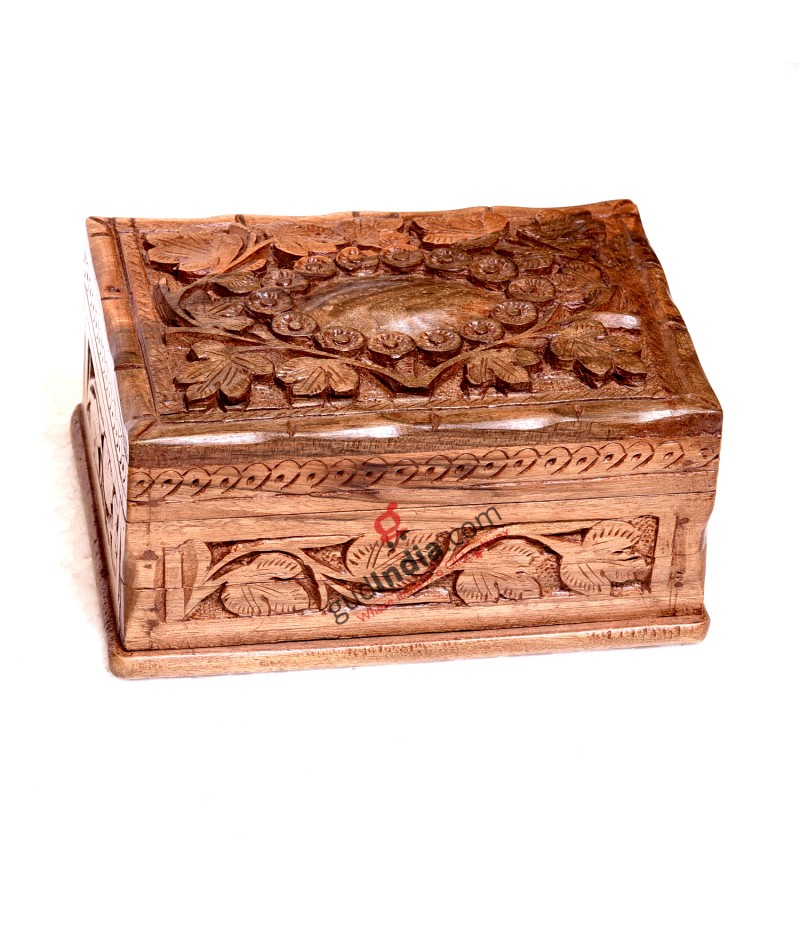 Kashmiri Wooden Storage Decor Box