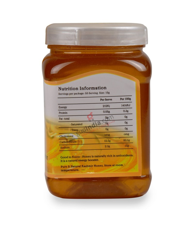 Natural Kashmir Honey 500gm